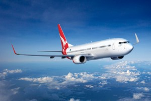 "Qantas ""Spirit of Australia"" 737-800 with Winglets Artwork K64241"
